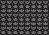 Skulls background — Stock Vector