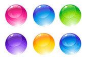 Bolas de decoração — Vetor de Stock