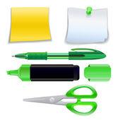 Office supplies — Stock Vector