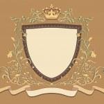 Heraldic shield — Stock Vector #11673958