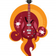 Royalty-Free Stock Vector Image: Acustic guitar