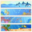 Sea life — Stock Vector #11675847