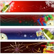 Stock Vector: New year banners