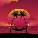 Paradise island — Stock Vector #11676052