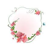 Floral frame — Wektor stockowy