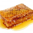 Foto de Stock  : Honeycomb close up