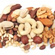 Mix of nuts — Stock Photo