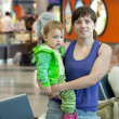 Stock Photo: Family in airport