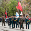 Ceremonial parade dedicated to the 67th Anniversary of victory - Stock Photo