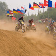 Team IMBA Cup of Nations (motocross) in Vladimir - Zdjęcie stockowe