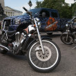 Stock Photo: Harley-Davidson international rally