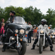 Harley-Davidson international rally - Zdjęcie stockowe