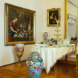 Interior of old nobility Palace — Stock Photo