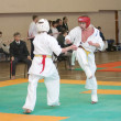 National competition among juniors by kyokushin karate — Stock Photo #11499208