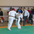 National championship among juniors by kyokushin karate event no — Stock Photo #11499210
