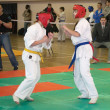 National championship among juniors by kyokushin karate — Stock Photo #11499231