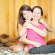 Happy mother with teen daughter — Stock Photo #11499460