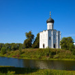Church of the Intercession on River Nerl - Stock Photo