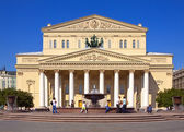 Grand Theatre in Moscow — Stock Photo