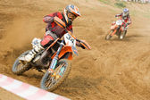 XX International motocross in Vladimir — Foto Stock