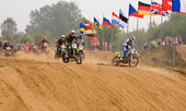 Team IMBA Cup of Nations (motocross) — Stock Photo