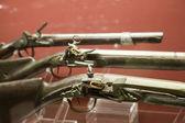 Closeup of medieval handgun in Valletta Grand Master Palace — Stock Photo