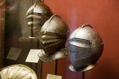 Knight's Helmets — Stock Photo