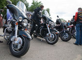 Harley-Davidson international rally — Stockfoto