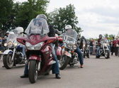 Harley-Davidson international rally — Stock Photo