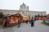 Christmas market in Vienna, Austria — Stockfoto
