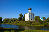 Church of the Intercession on River Nerl — Stock Photo