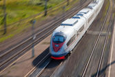 High-speed passenger train — Foto Stock