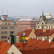 Stock Photo: Top vew of Prague