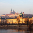 Prague from Vltava. Czech Republic — Foto Stock #11500013