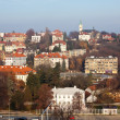 Stock Photo: Historical residential district in Prague