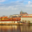 Foto Stock: View of Prague, Czechia