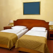 Bedroom with double bed — Foto Stock #11500111