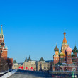 Red Square in winter. Moscow. Russia — Stock Photo