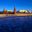 Moscow Kremlin in winter day — Stock Photo #11500185
