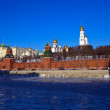 Moscow Kremlin in winter. Russia — Stock Photo