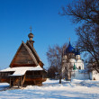 Churches at Suzdal in winter - ストック写真