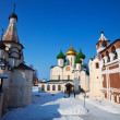Saviour-Euthimiev monastery at Suzdal in winter - Stock fotografie