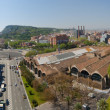 Panorama view of Barcelona — Stock Photo