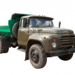 Vintage Soviet military truck. Isolated over white — Stock Photo #11500306
