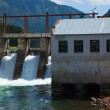 Stock Photo: Hydro-electric power station