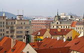 Top vew of Prague — Stock Photo