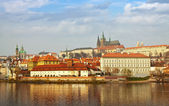 Vista de praga, república checa — Foto de Stock