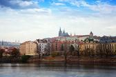 Uitzicht op praag. tsjechië — Stockfoto