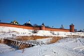 Saviour-Euthimiev monastery at Suzdal — Stock Photo