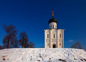 Church of the Intercession on the River Nerl — Stockfoto